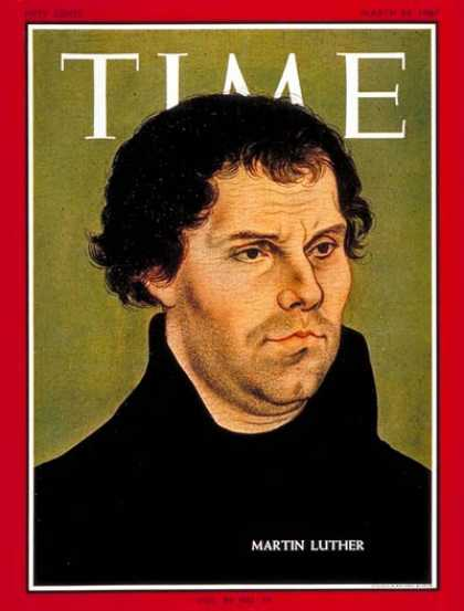 Time - Martin Luther - Mar. 24, 1967 - Religion