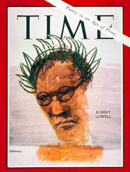 Time - Robert Lowell - June 2, 1967 - Books - Poets