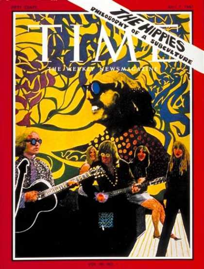 Time - The Hippies - July 7, 1967 - Society