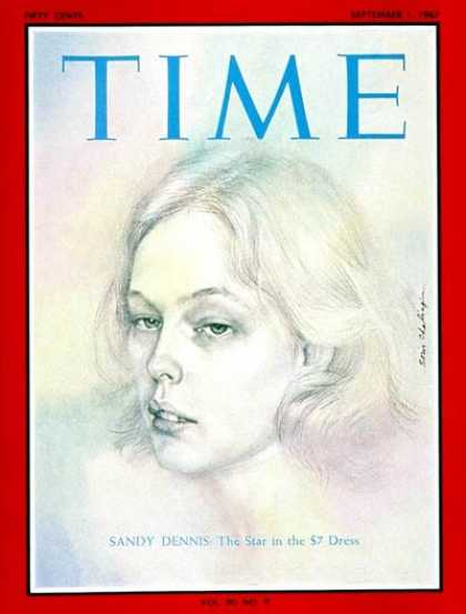 Time - Sandy Dennis - Sep. 1, 1967 - Movies - Actresses