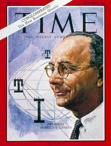 Time - Harold S. Geneen - Sep. 8, 1967 - Conglomerates - Business