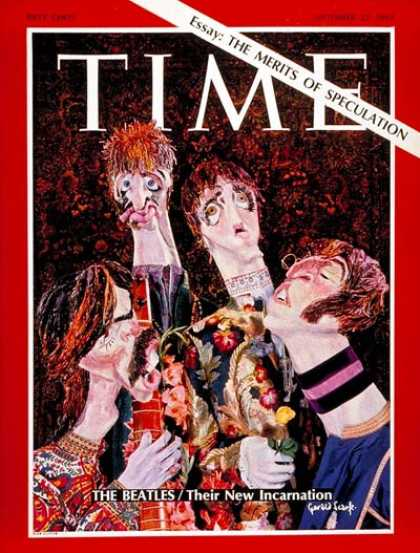 Time - The Beatles - Sep. 22, 1967 - Rock - Singers - Most Popular - Music