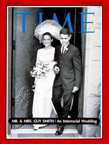 Time - Mr. And Mrs. Guy Smith - Sep. 29, 1967 - Demographics - Marriage - Ethnicity - R