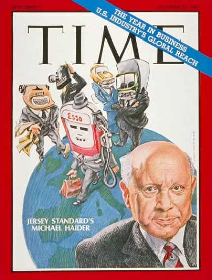 Time - Michael Haider - Dec. 29, 1967 - Energy - Oil - Business