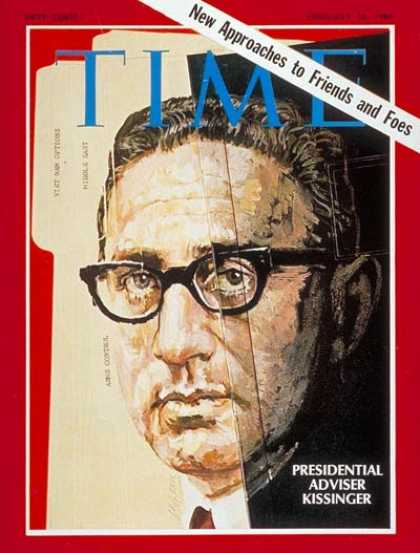 Time - Henry Kissinger - Feb. 14, 1969 - Diplomacy