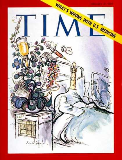 Time - U.S. Medicine - Feb. 21, 1969 - Health & Medicine