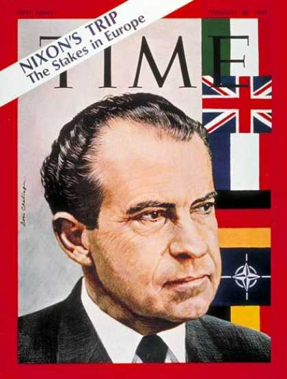 Time - Richard Nixon - Feb. 28, 1969 - U.S. Presidents - Politics