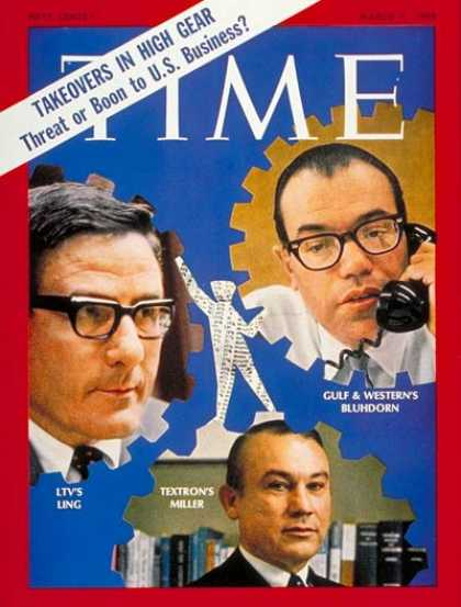 Time - Ling, Bludhorn, Miller - Mar. 7, 1969 - Business