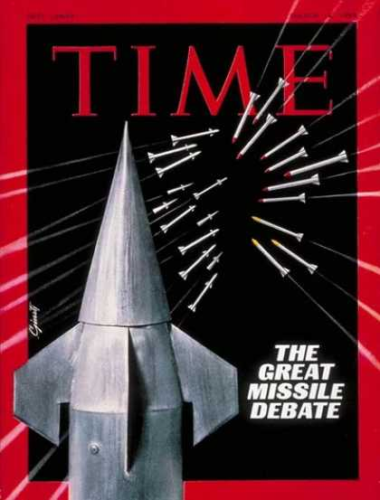 Time - Great Missile Debate - Mar. 14, 1969 - Nuclear Weapons - Missiles - Society - Po