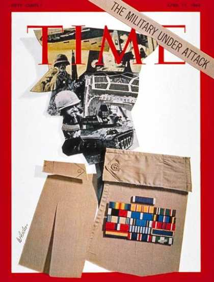 Time - Military Under Attack - Apr. 11, 1969 - Military