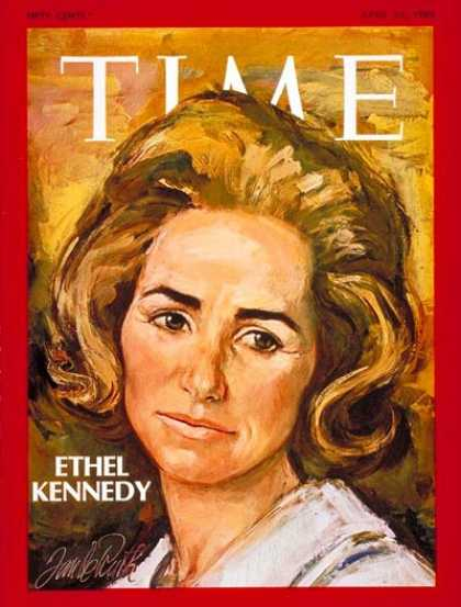 Time - Ethel Kennedy - Apr. 25, 1969 - Kennedys