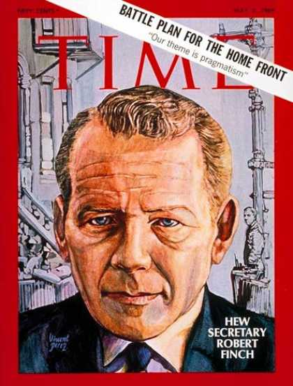 Time - Robert H. Finch - May 2, 1969 - Politics