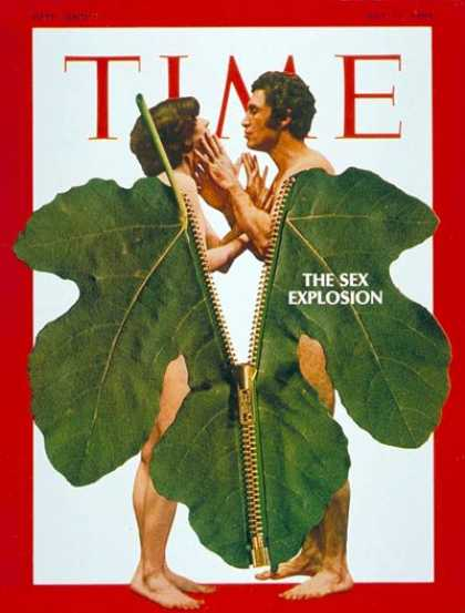 Time - The Sex Explosion - July 11, 1969 - Sex - Theater - Society