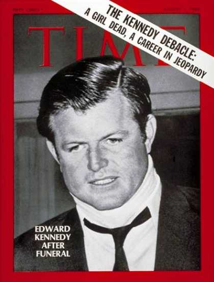 Time - Senator Edward Kennedy - Aug. 1, 1969 - Edward Kennedy - Congress - Senators - K