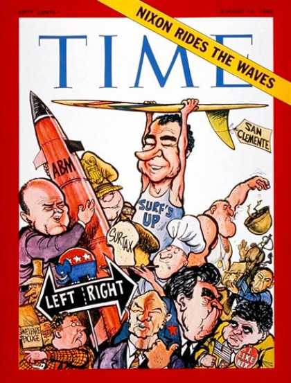Time - The Nixon Presidency - Aug. 15, 1969 - Richard Nixon - U.S. Presidents - Politic