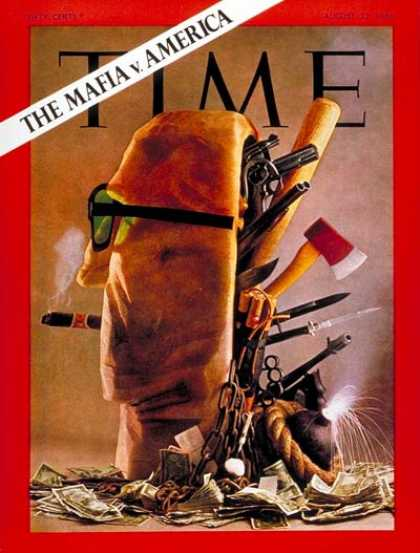 Time - The Mafia - Aug. 22, 1969 - Crime - Law Enforcement - Mafia - Organized Crime