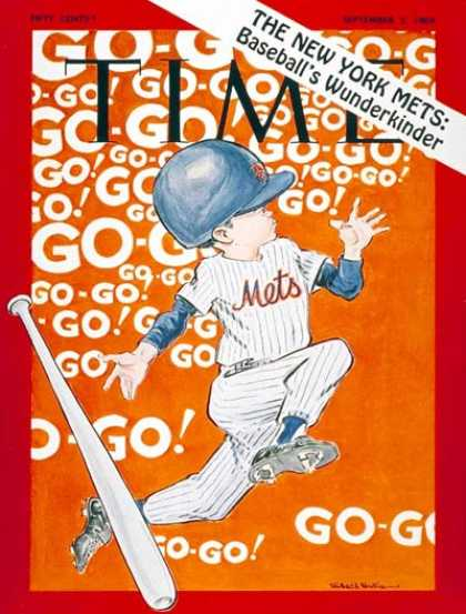 Time - The New York Mets - Sep. 5, 1969 - Baseball - New York - Most Popular - Sports