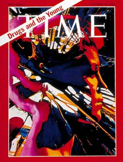 Time - Drugs and the Young - Sep. 26, 1969 - Children - Teens - Drug Abuse - Health & M