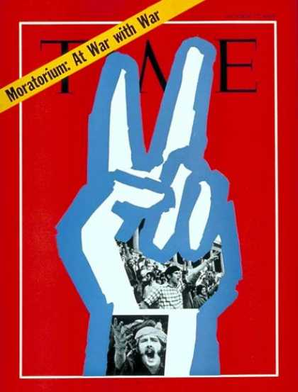 Time - Vietnam Moratorium - Oct. 17, 1969 - Vietnam War - Social Unrest - Vietnam