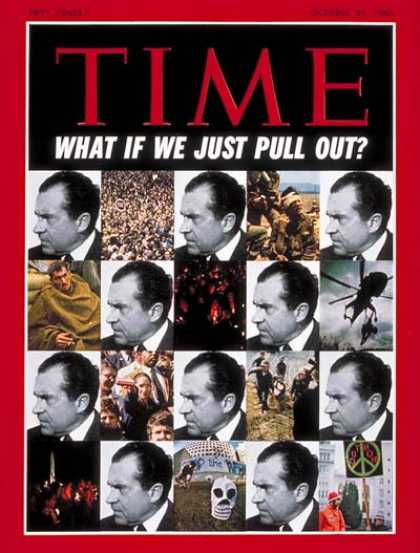 Time - Nixon and Vietnam - Oct. 24, 1969 - Richard Nixon - U.S. Presidents - Vietnam Wa