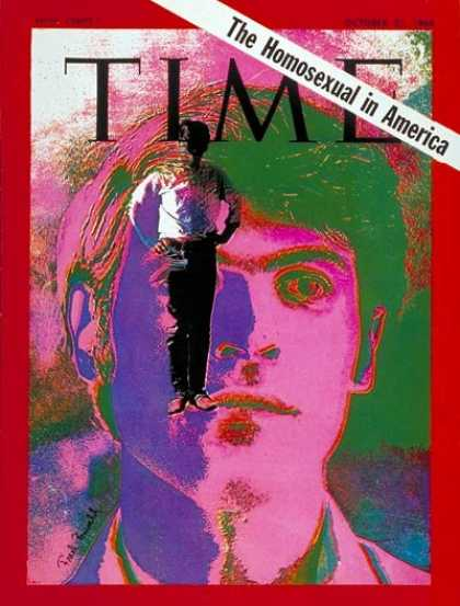 Time - The Homosexual - Oct. 31, 1969 - Homosexuality - Social Issues