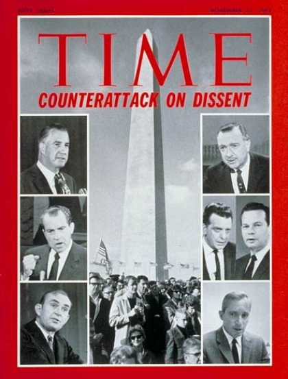 Time - Combatting Dissent - Nov. 21, 1969 - Politics - Broadcasting - Media - Journalis