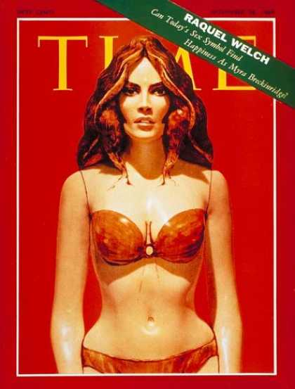 Time - Raquel Welch - Nov. 28, 1969 - Actresses - Most Popular - Movies
