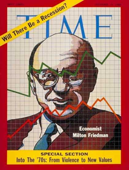 Time - Milton Friedman - Dec. 19, 1969 - Economy