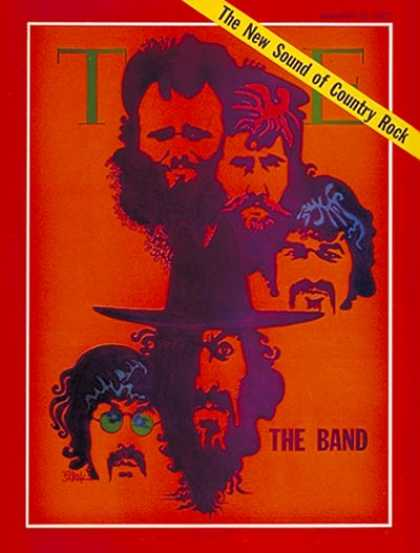 Time - The Band - Jan. 12, 1970 - Rock - Singers - Music