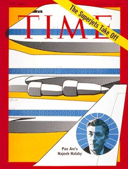 Time - Najeeb Halaby - Jan. 19, 1970 - Aviation - Business