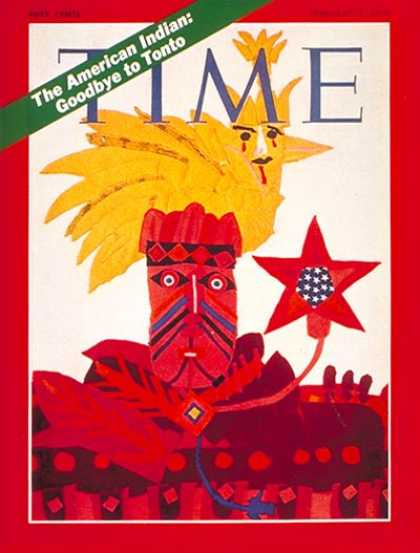 Time - The American Indian - Feb. 9, 1970 - Ethnicity - Society