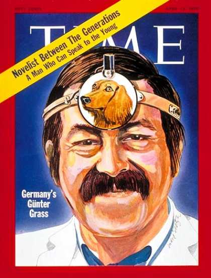 Time - Gunter Grass - Apr. 13, 1970 - Dogs - Books