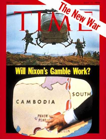 Time - Cambodian Invasion - May 11, 1970 - Cambodia
