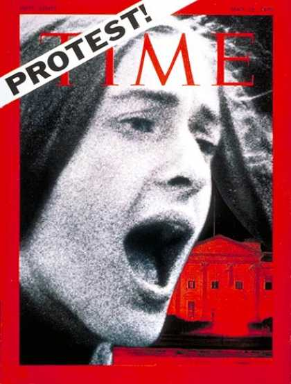 Time - U.S. Student Protest - May 18, 1970 - Education
