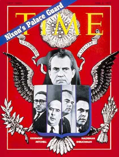 Time - Nixon's Palace Guard - June 8, 1970 - Richard Nixon - U.S. Presidents - Politics