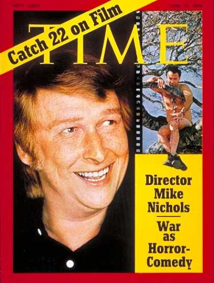 Time - Mike Nichols - June 15, 1970 - Directors - Theater - Movies