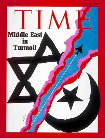 Time - Middle East Turmoil - June 22, 1970 - Israel - Middle East