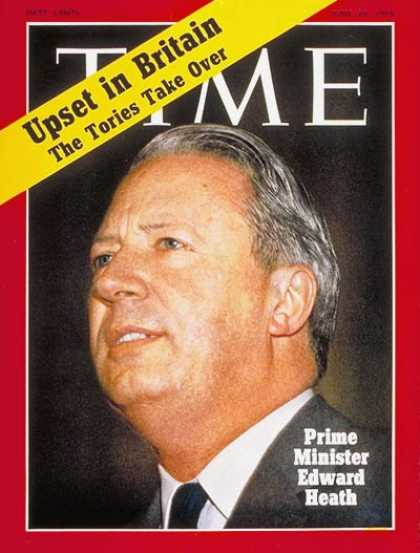 Time - Edward Heath - June 29, 1970 - Great Britain - Prime Ministers