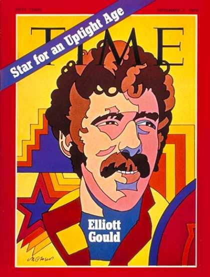 Time - Elliott Gould - Sep. 7, 1970 - Television - Actors - Movies - Broadcasting