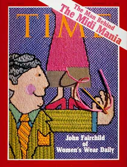 Time - John Fairchild - Sep. 14, 1970 - Fashion