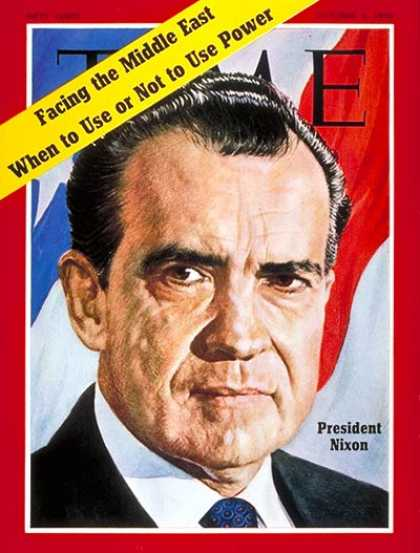 Time - Richard Nixon - Oct. 5, 1970 - U.S. Presidents - Politics