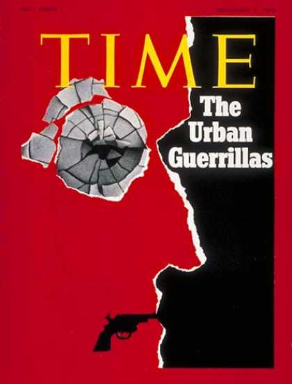 Time - The Urban Guerillas - Nov. 2, 1970 - Guns - Violence - Crime - Cities - Weapons