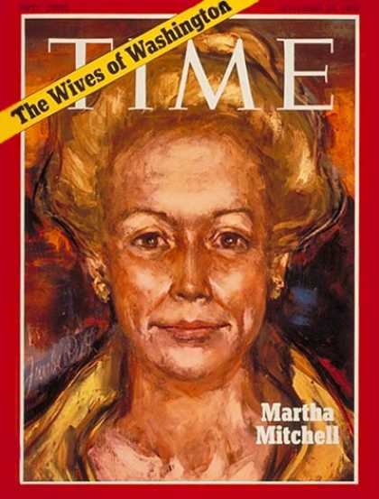 Time - Martha Mitchell - Nov. 30, 1970 - Gossip - Watergate