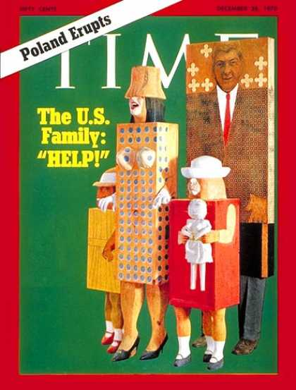 Time - The U.S. Family - Dec. 28, 1970 - Family - Parenting - Society