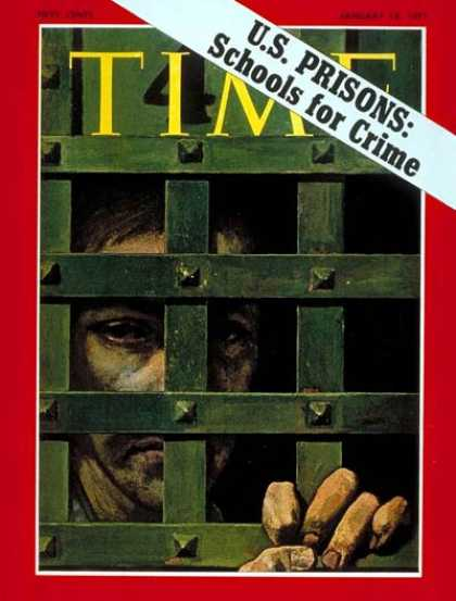 Time - U.S. Prisons - Jan. 18, 1971 - Crime - Law Enforcement - Prisons