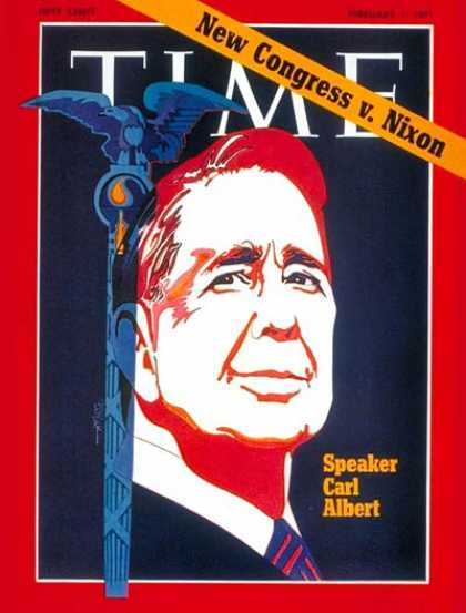 Time - Carl Albert - Feb. 1, 1971 - Congress - Politics
