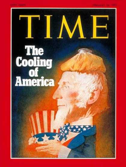 Time - The Cooling of America - Feb. 22, 1971 - Uncle Sam - Society