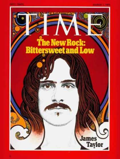 Time - James Taylor - Mar. 1, 1971 - Rock - Singers - Music