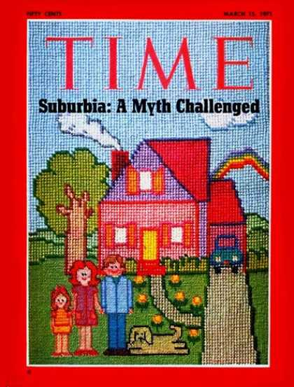 Time - Suburbia - Mar. 15, 1971 - Society