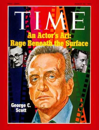 Time - George C. Scott - Mar. 22, 1971 - Actors - Movies